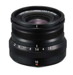 Fujifilm FUJINON XF16MMF2.8 R WR - black