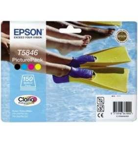 Bundle Epson T5846 CMYK PicturePack | PictureMate PM240