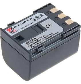Baterie T6 power Canon BP-2L12, BP-2L14, 1500mAh, 11,1Wh, šedá
