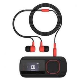 ENERGY MP3 Clip Bluetooth Coral (8GB, MicroSD, FM, sluchátka)