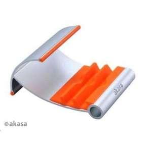 AKASA stojánek na tablet  AK-NC054-OR, hliníkový, oranžový