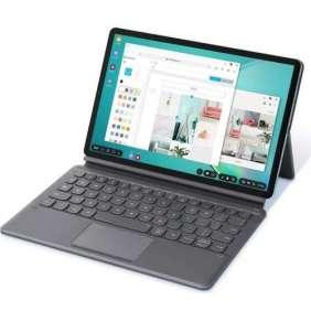 Samsung polohovacie pouzdro pre Tab S6, s klávasnicou, sivá