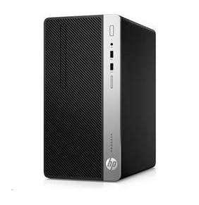 HP ProDesk 400G6 MT i7-9700, 1x8 GB, SSD 256 GB M.2 NVMe Intel HD, kl. a myš, DVDRW, zdroj 310W gold,2xDP+VGA, Win10Pro