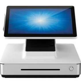 Elo PayPoint Plus, 39.6 cm (15,6''), Projected Capacitive, SSD, MSR, Scanner, Win. 10, bílá