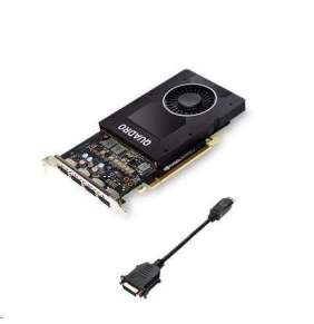 HP Nvidia Quadro P2200 5GB 4x DP 1.4