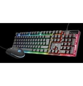 TRUST set klávesnice + myš GXT 838 Azor Gaming Combo US