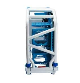 skříň In Win D-FRAME 2.0 blue/white + 1065W zdroj