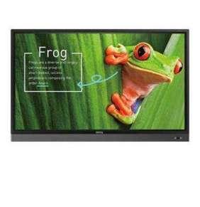 """BenQ LCD RP7501K 75"""" /3840x2160/1200:1/350cd/20-point touch/HDMIx3/VGA/6xUSB/VESA/2x16W repro"""