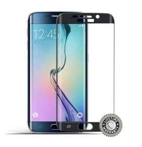 Screenshield™ SAMSUNG G925 Galaxy S6 Edge Tempered Glass protection (black)