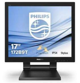 "Philips LCD 172B9T 17"" 5:4 TN Touch/1280x1024@60Hz/50M:1/1ms/250 cd/m2/VGA/DVI/HDMI/DP/2xUSB/VESA/Repro"