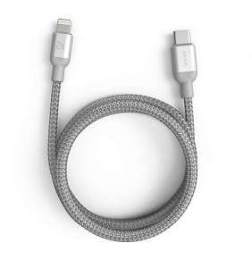 Adam Elements kábel Peak II C120B USB-C to Lightning 1,2m - Silver