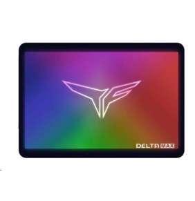 """T-FORCE SSD 2.5"""" 500GB Delta Max RGB (R:560, W:500 MB/s) 3NAND, Black"""