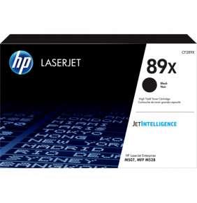 HP 89X Black LaserJet Toner Cartridge (10,000 pages)
