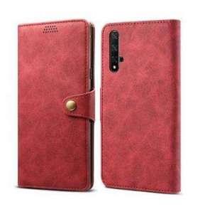 Lenuo Leather na Honor 20/Huawei Nova 5T Red