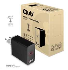 Club3D Nabíječka USB Typ C, 27 W