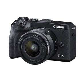 Canon EOS M6 Mark II + EF-M 15-45 + IFC-400 + Joby stativ
