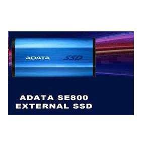 ADATA SE800 512GB SSD / Externí / USB 3.2 Type-C / černý