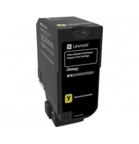 CS720, CS725, CX725 Yellow Standard Yield Return Programme Toner Cartridge - 7 000 stran