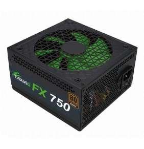 EVOLVEO FX 750 , zdroj 750W ATX, 14cm, tichý, 80+ bronze, bulk