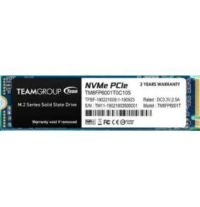 Team SSD M.2 256GB (R:1600, W:1000), MP33 PCI-e Gen3.0 x4 NVMe 1.3