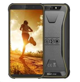 "iGET Blackview GBV5500 Pro Yellow odolný telefon, 5,5"" HD, 3GB+16GB, DualSIM, 4G, 4400mAh, NFC"