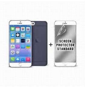 """Puro zadní kryt pro Apple iPhone 6 Plus ULTRA-SLIM """"0.3"""" s fólií na displej, černá"""