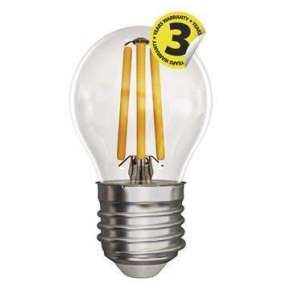 LED FLM MINI GL 4W(40W) 465lm E27 WW A++
