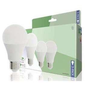 HQ LE27A603P02 LED žárovka Classic A60, 9W/60W E27, WW teplá bílá, 806 lm, 3 kusy