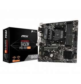 MSI B450M PRO-VDH MAX / B450 / AM4 / 4x DDR4 DIMM / M.2 / D-Sub / DVI-D / HDMI / mATX