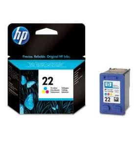 HP C9352AE Ink Cart No.22 pro 3920, 3940, D1360, D2360,F380, 5ml, Color