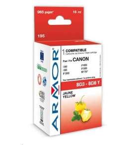ARMOR ink-jet pre CANON UNIV. S400-800, BJC6000/8200 Serie, 965 strán, BCi3/6Y, žltá/yellow (BCi3-6Y)