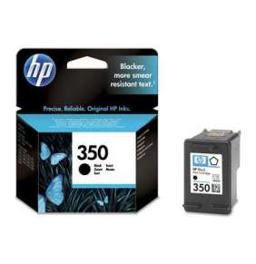 HP CB335EE Ink Cart No.350 pro OJ 5780, 5785, 4,5ml, Black