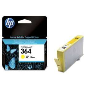 HP CB320EE Ink Cart No.364 pro D5460, C5380, 3ml, Yellow
