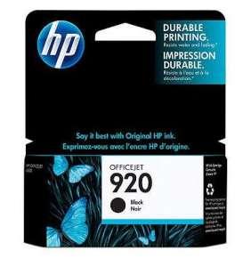 HP 920 Black Ink Cart, 10 ml, CD971AE