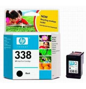 HP No. 338 Black Inkjet Print Cartridge (11ml)- Blister