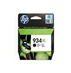HP Čierna originálna atramentová kazeta s vysokou výťažnosťou HP 934XL