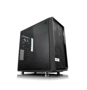 FRACTAL DESIGN skříň Meshify Mini C, Midi Tower, černá (okno TG), bez zdroje