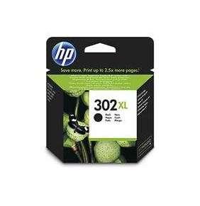 HP 302XL High Yield Black Original Ink Cartridge, , F6U68AE