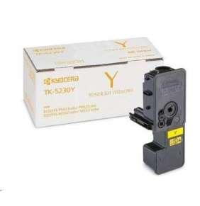 Kyocera toner TK-5230Y, pro M5521cdn/cdw, P5021cdn/cdw, žlutý, 2200 stran