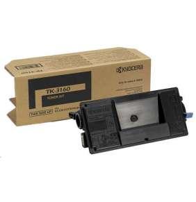 Kyocera toner TK-3160/ pro ECOSYS P3045/3050/3055/3060/ 12 500 stran/ černý
