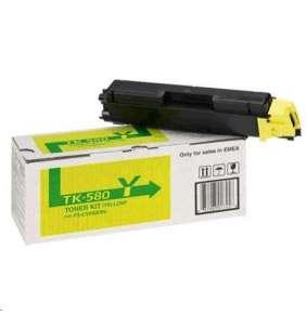 Kyocera toner TK-580Y/ FS-C5150DN/ 2 800 stran/ Žlutý