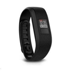 Garmin Vívofit3 Black (vel. L) - monitorovací náramek/hodinky, bez nutnosti nabíjení
