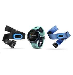 Garmin GPS sportovní hodinky Forerunner 735XT Tri Bundle Blue