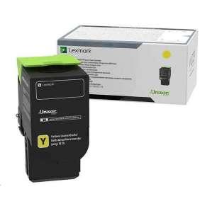 Lexmark žlutý Extra High capacity toner C240X40 pro C2425dw, C2535dw, MC2425adw, MC2535adwe, MC2640adwe - 3 500 str