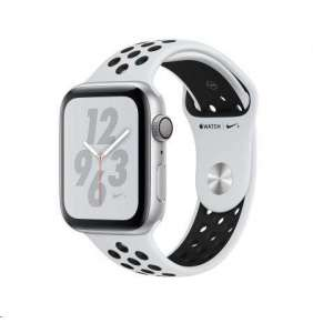 Watch Nike+, S4, 44mm, Silver/Plt+Black Nike Band