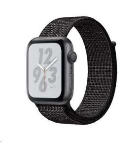 AppleWatch Nike+ Series 4 GPS, 40mm Space Grey Aluminium Case with Black Nike Sport Loop
