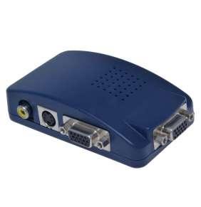 Převodník signálu z PC - TV cinch + s-video