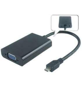 PremiumCord MHL microUSB - VGA/female