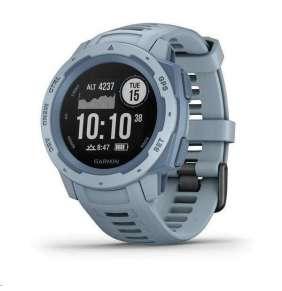 GARMIN chytré GPS hodinky Instinct Light Blue Optic