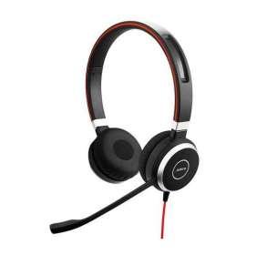 Jabra náhlavní souprava Evolve 40, stereo, USB + 3,5 mm jack, NC, MS